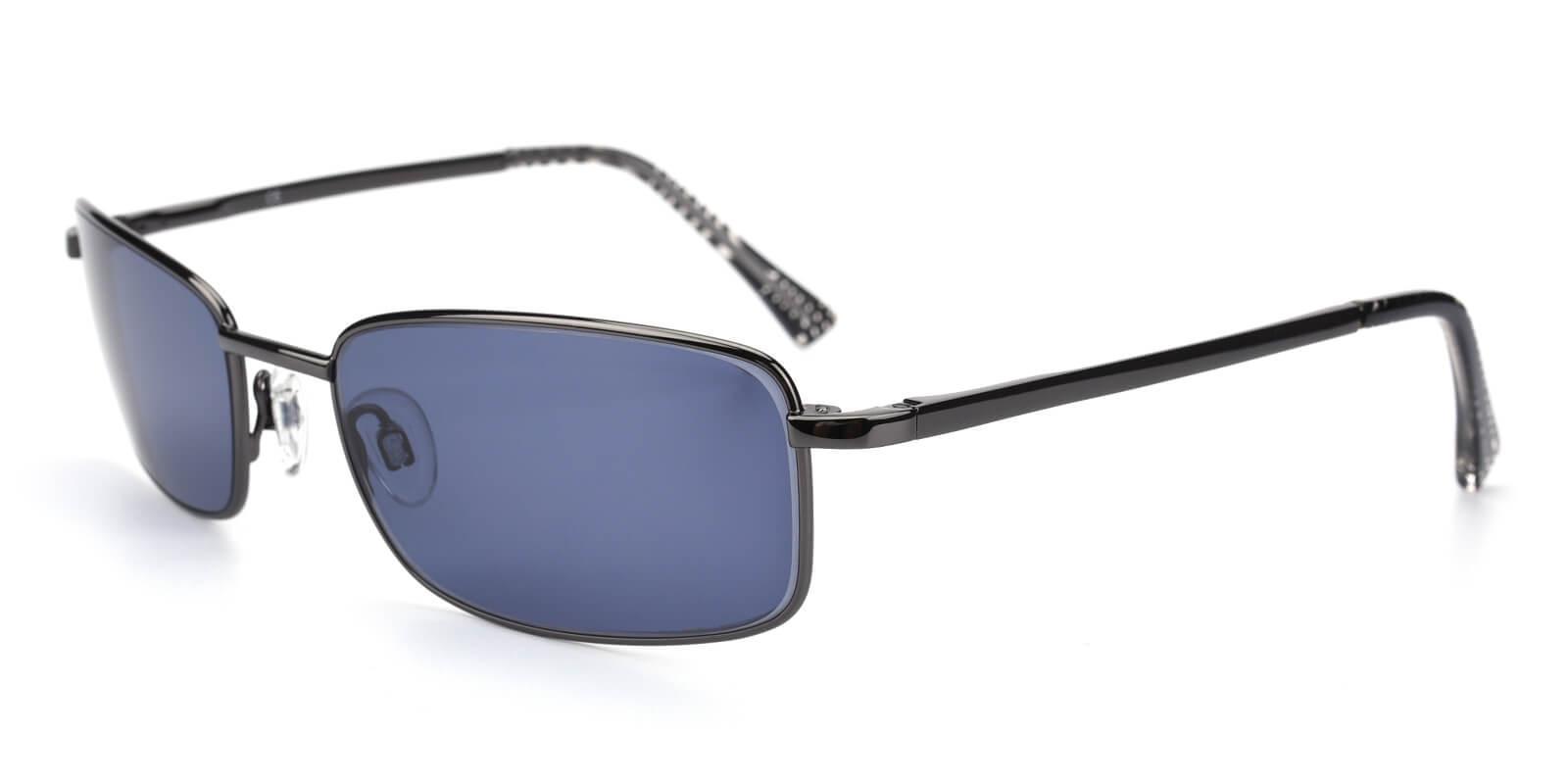 Sam Gun Metal NosePads , SpringHinges , Sunglasses Frames from ABBE Glasses