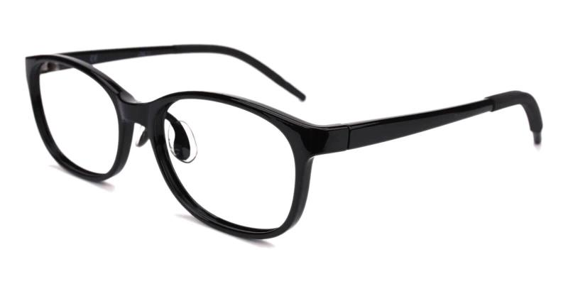 Black Kids-Willy - TR Eyeglasses , Lightweight , NosePads