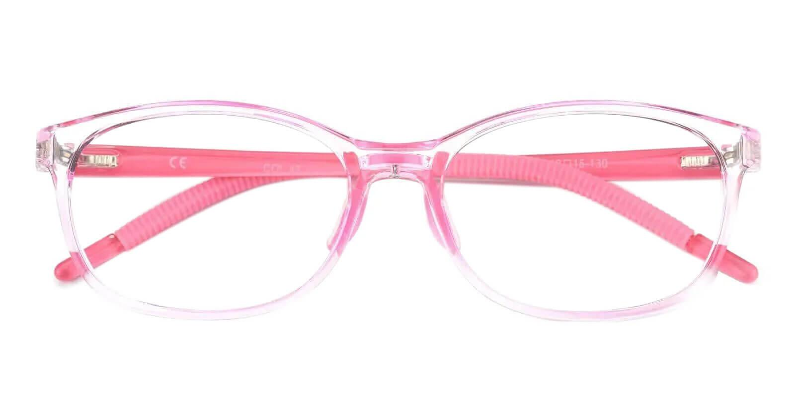 Kids-Willy Pink TR Eyeglasses , Lightweight , NosePads Frames from ABBE Glasses
