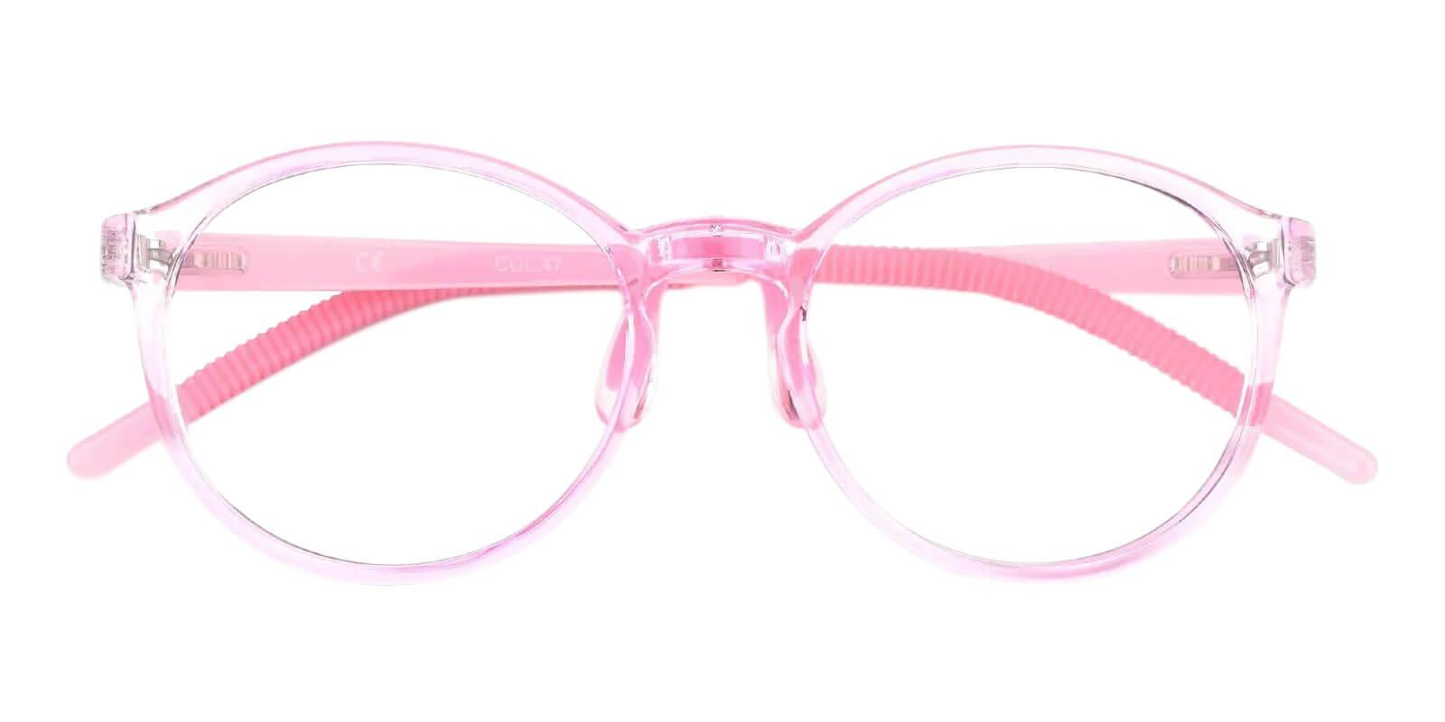 Kids-Billy Pink TR Eyeglasses , Lightweight , NosePads Frames from ABBE Glasses