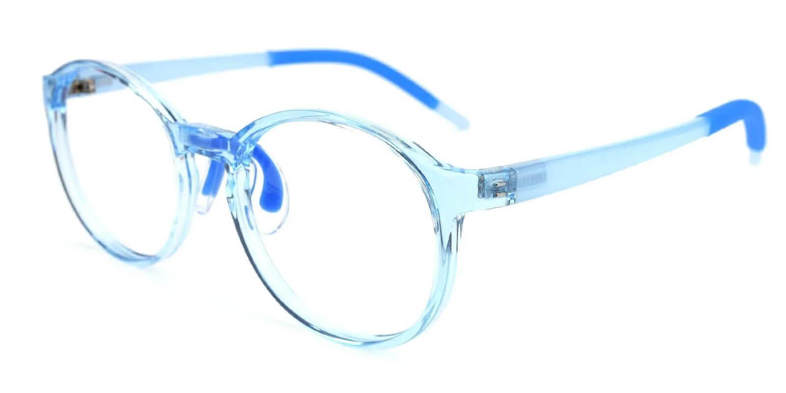 Kids-Billy Translucent TR Eyeglasses , Lightweight , NosePads Frames from ABBE Glasses