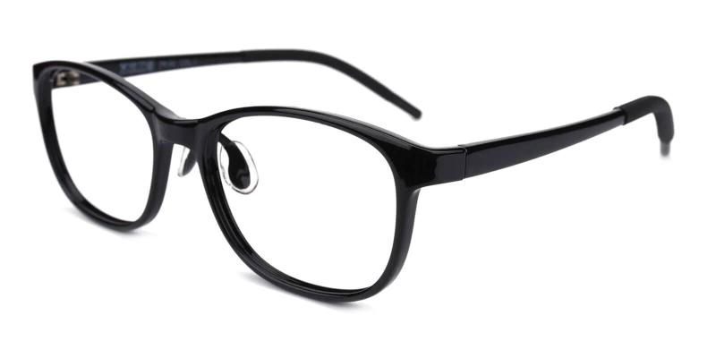 Black Kids-Terry - TR Eyeglasses , Lightweight , NosePads