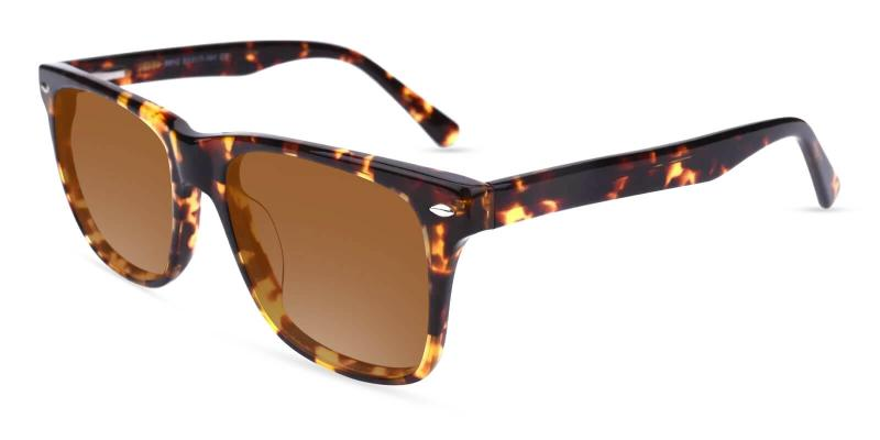 Tortoise Hepburn - Acetate ,Universal Bridge Fit
