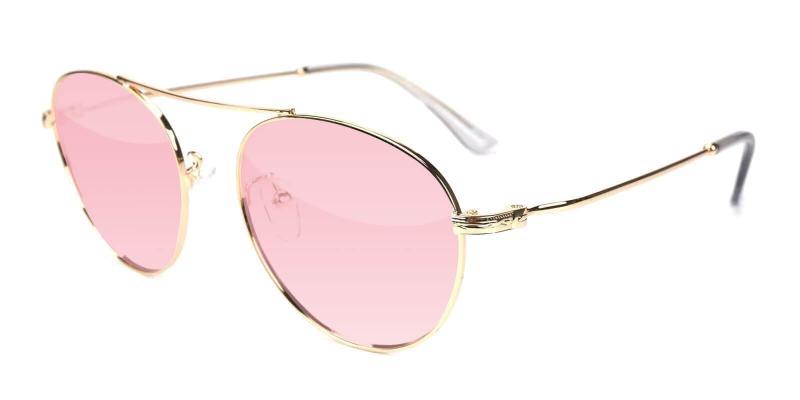 Gold Daydream - Metal ,Sunglasses