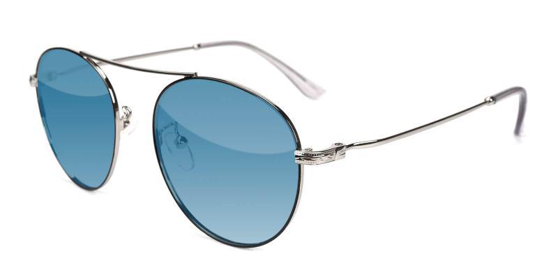 Silver Daydream - Metal ,Sunglasses