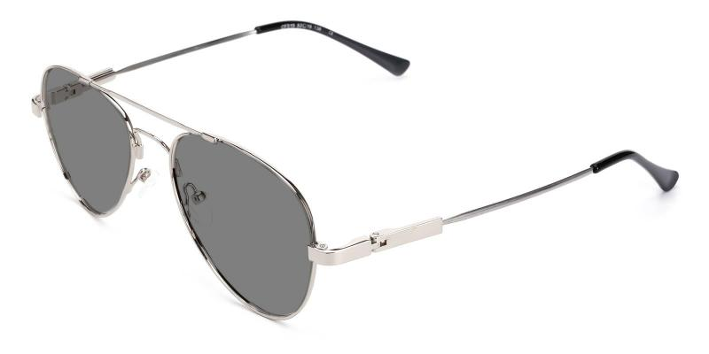 Silver Movement - Metal ,Sunglasses