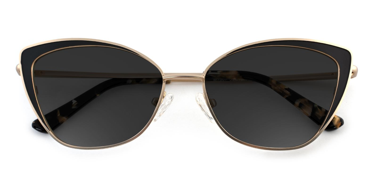 Primrose Gold Metal NosePads , SpringHinges , Sunglasses Frames from ABBE Glasses