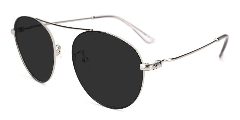 Silver Cupertino - Metal ,Sunglasses