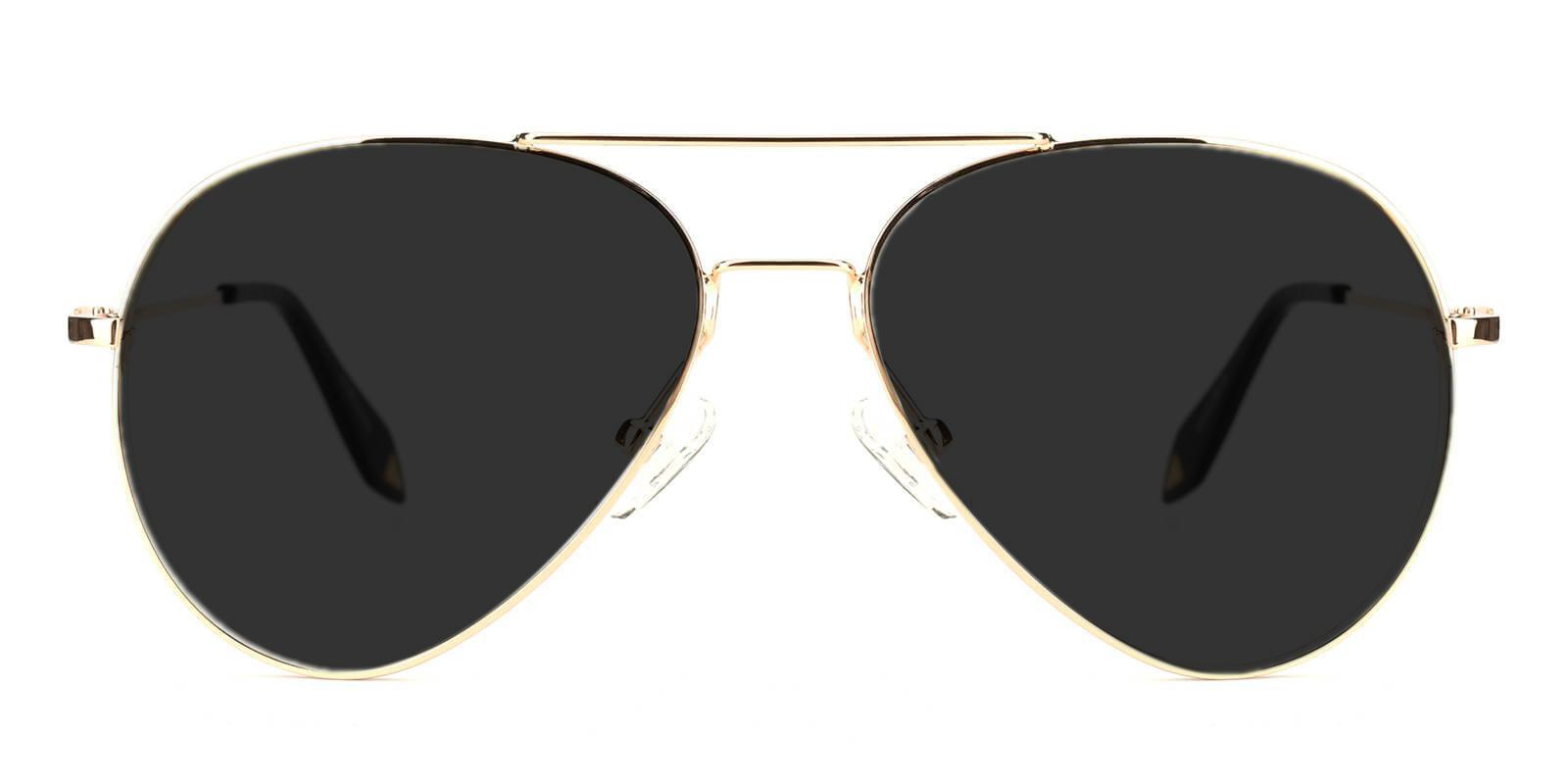 Dapper Gold Metal NosePads , Sunglasses Frames from ABBE Glasses