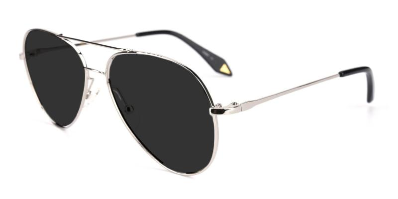 Silver Dapper - Metal ,Sunglasses
