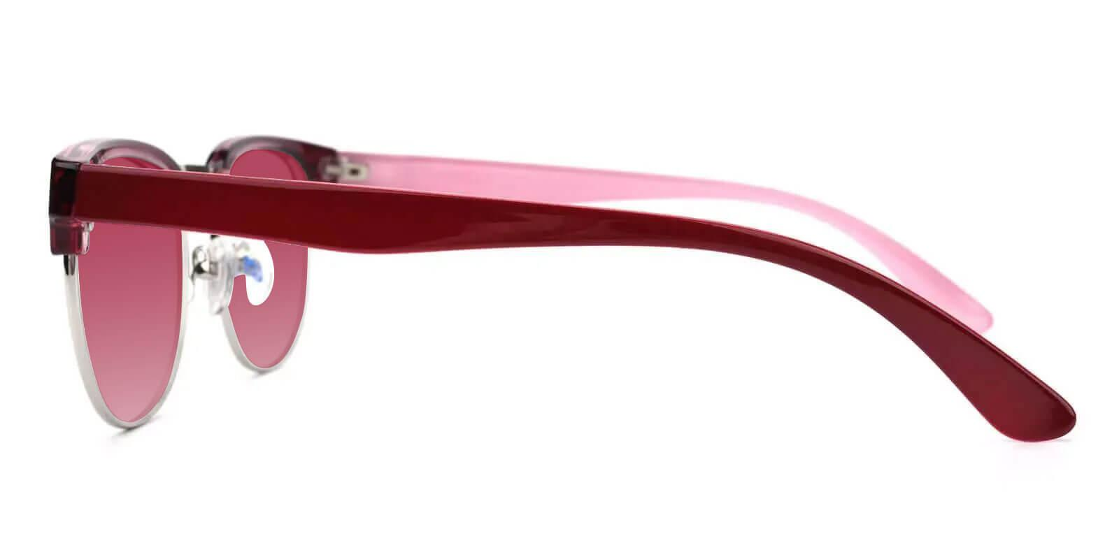 Giveny Red TR NosePads , Sunglasses Frames from ABBE Glasses