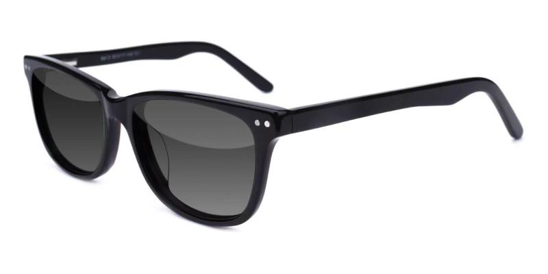 Black Moon - Acetate SpringHinges , Sunglasses , UniversalBridgeFit