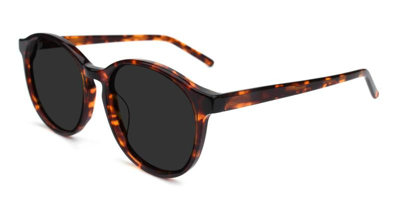 Tortoise Sun - Acetate ,Universal Bridge Fit