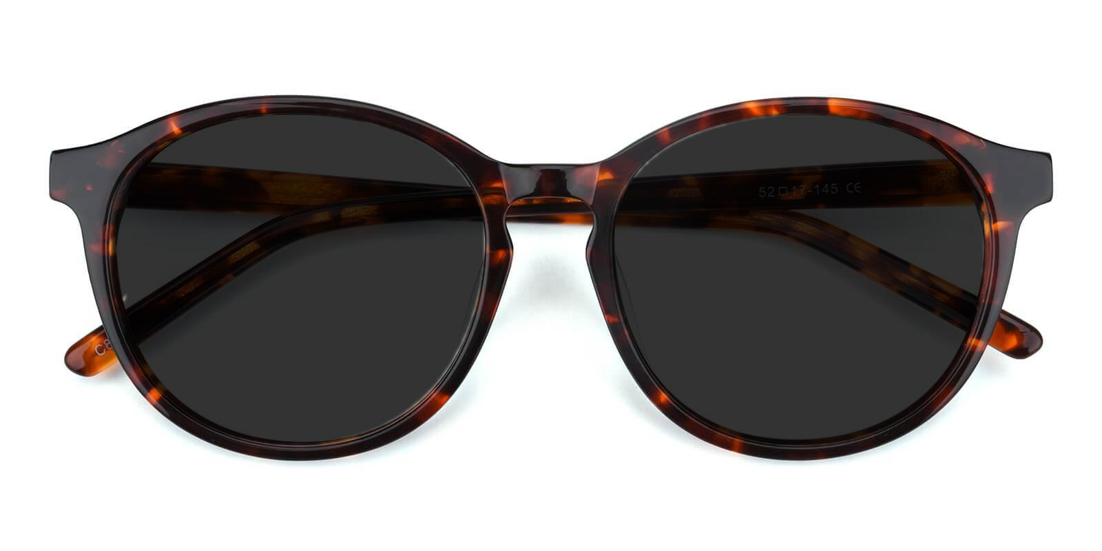 Sun Tortoise Acetate Sunglasses , UniversalBridgeFit Frames from ABBE Glasses