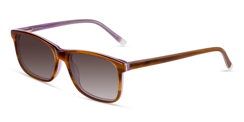 Brown Candela - Acetate SpringHinges , Sunglasses , UniversalBridgeFit