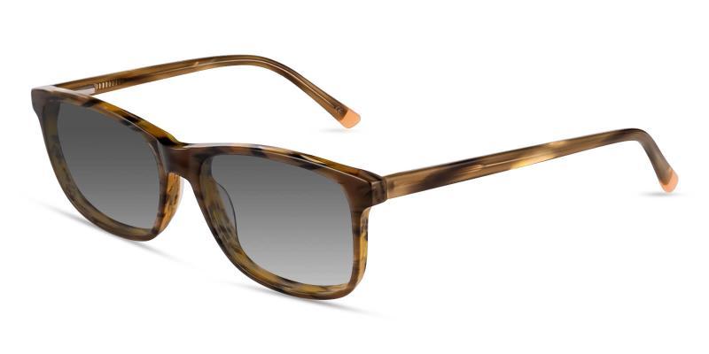 Striped Candela - Acetate SpringHinges , Sunglasses , UniversalBridgeFit