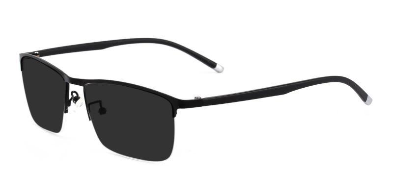 Black Allure - Metal NosePads , Sunglasses