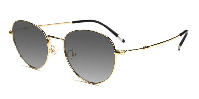 Gold Coxon - Metal Lightweight , NosePads , Sunglasses