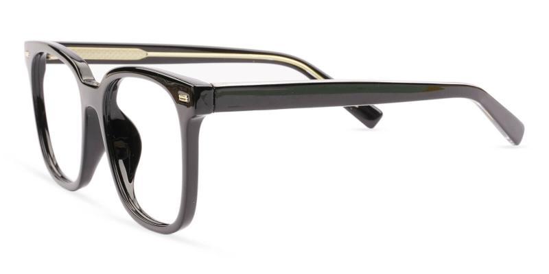 Black Wings -  Eyeglasses , UniversalBridgeFit