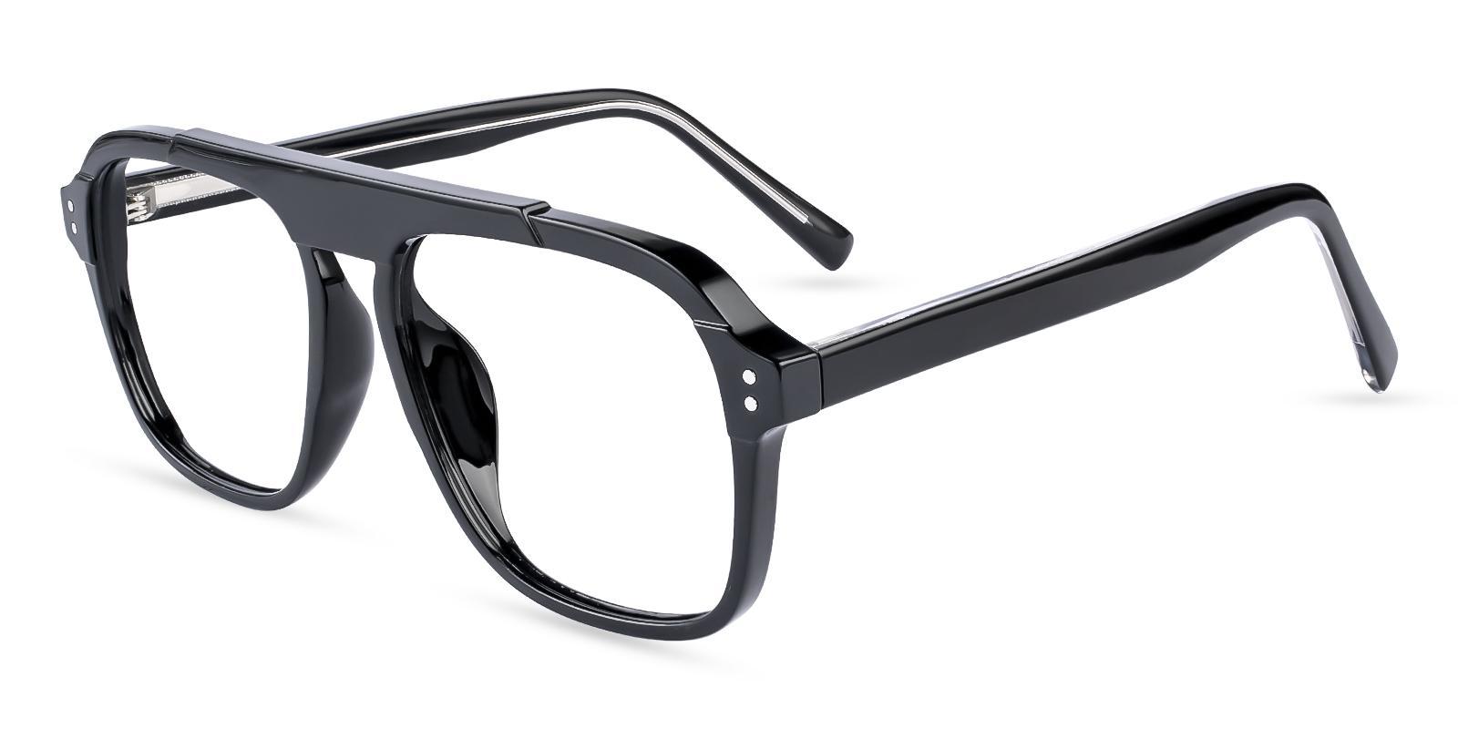Hijinks Black  Eyeglasses , UniversalBridgeFit Frames from ABBE Glasses