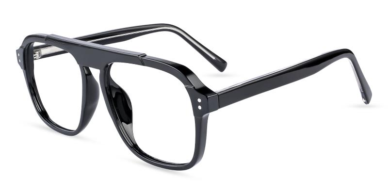 Black Hijinks -  Eyeglasses , UniversalBridgeFit