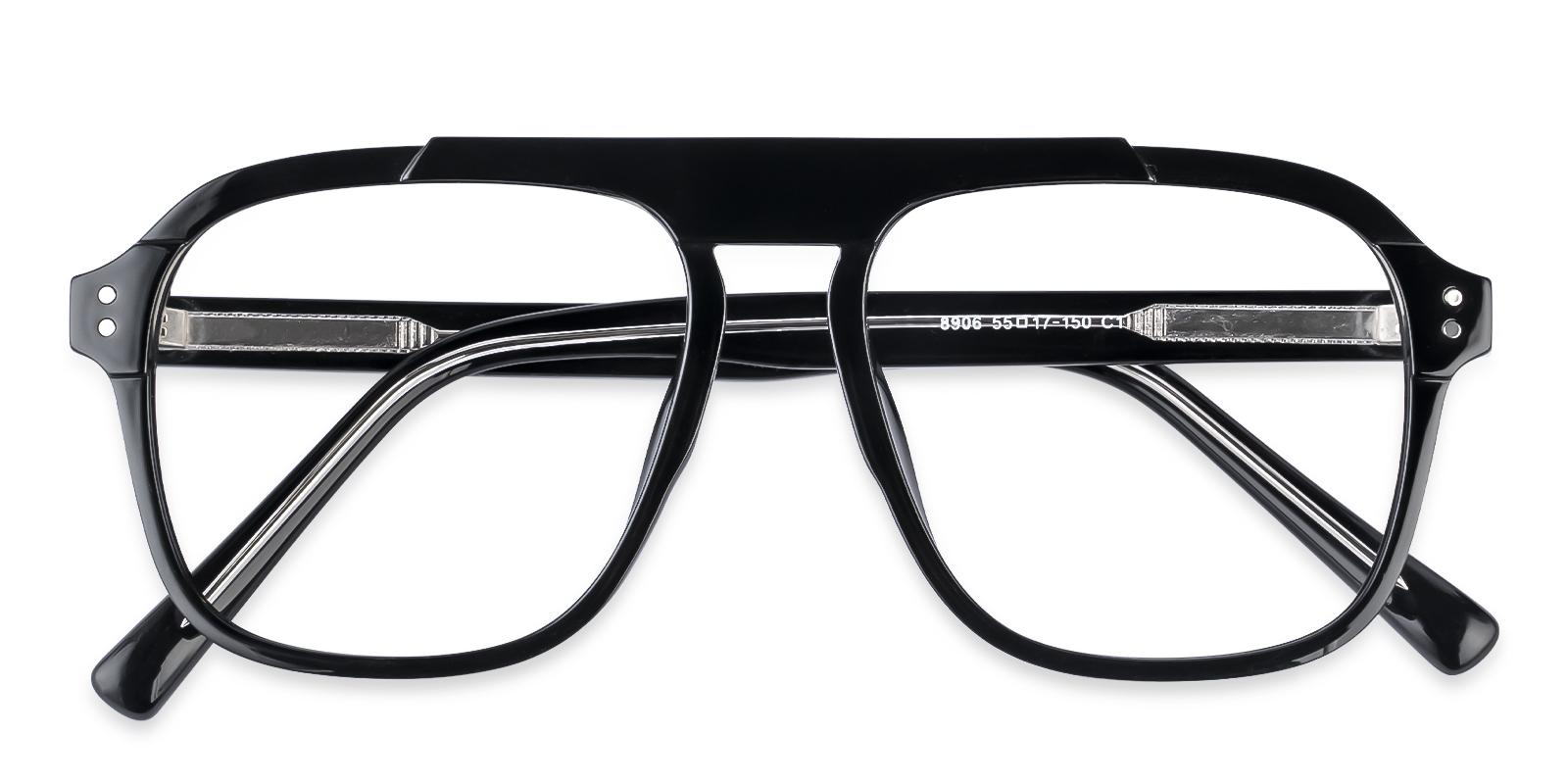 Hijinks Black  Eyeglasses , UniversalBridgeFit Frames from ABBE Glasses