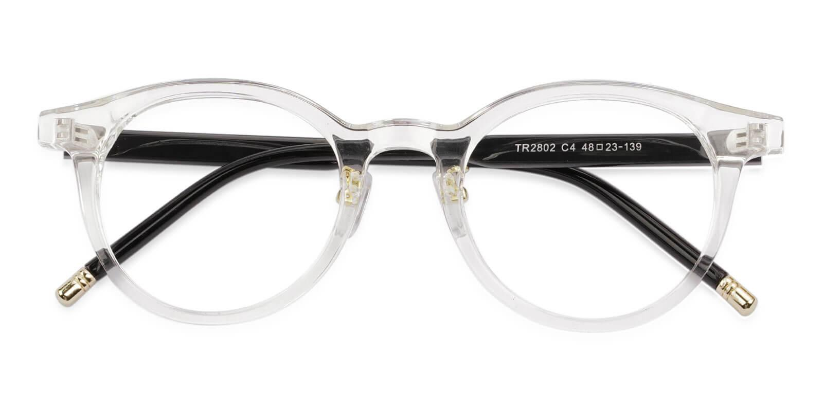 Nala Translucent TR Eyeglasses , NosePads Frames from ABBE Glasses
