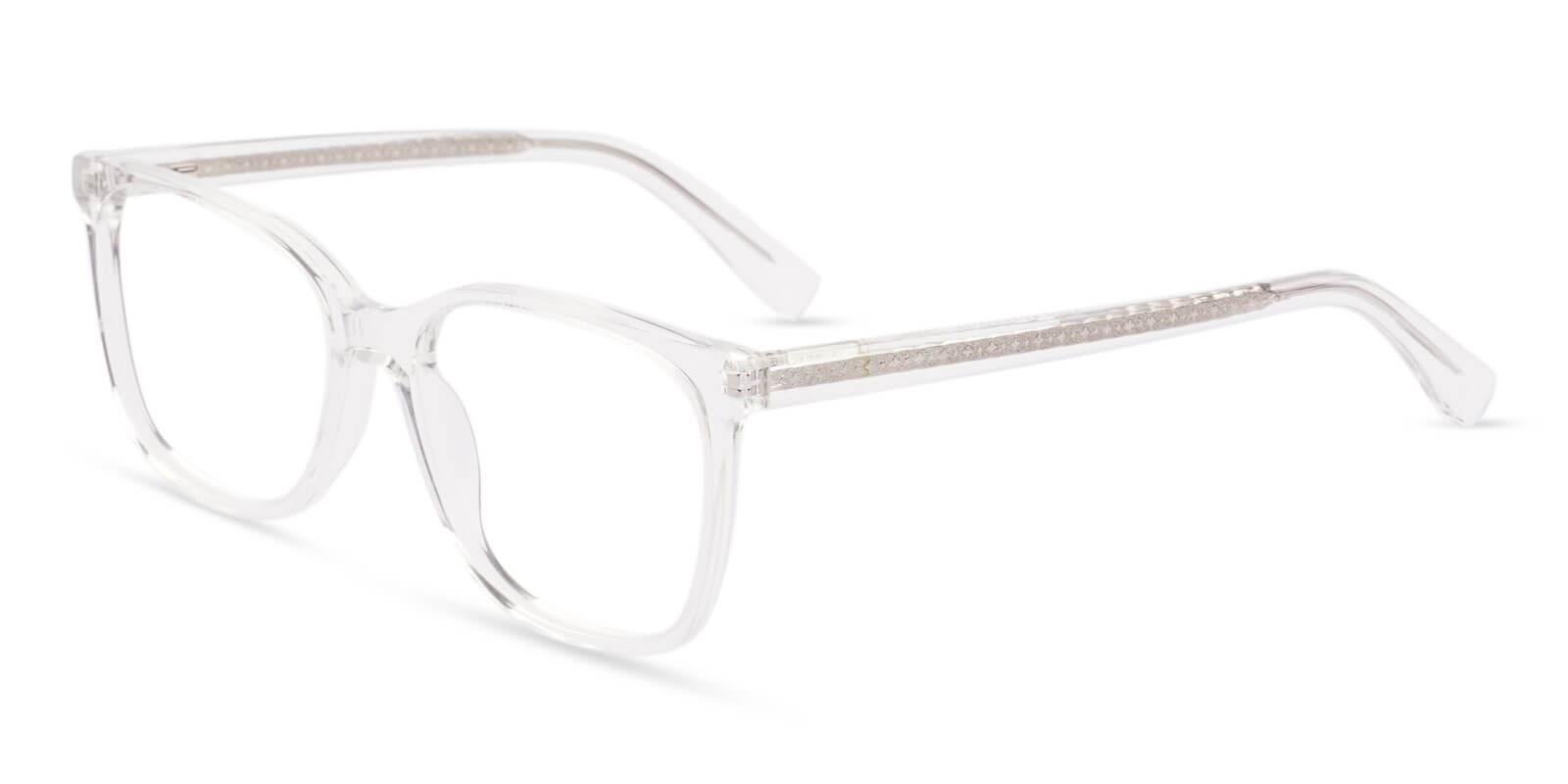 Groove Translucent Acetate Eyeglasses , SpringHinges , UniversalBridgeFit Frames from ABBE Glasses