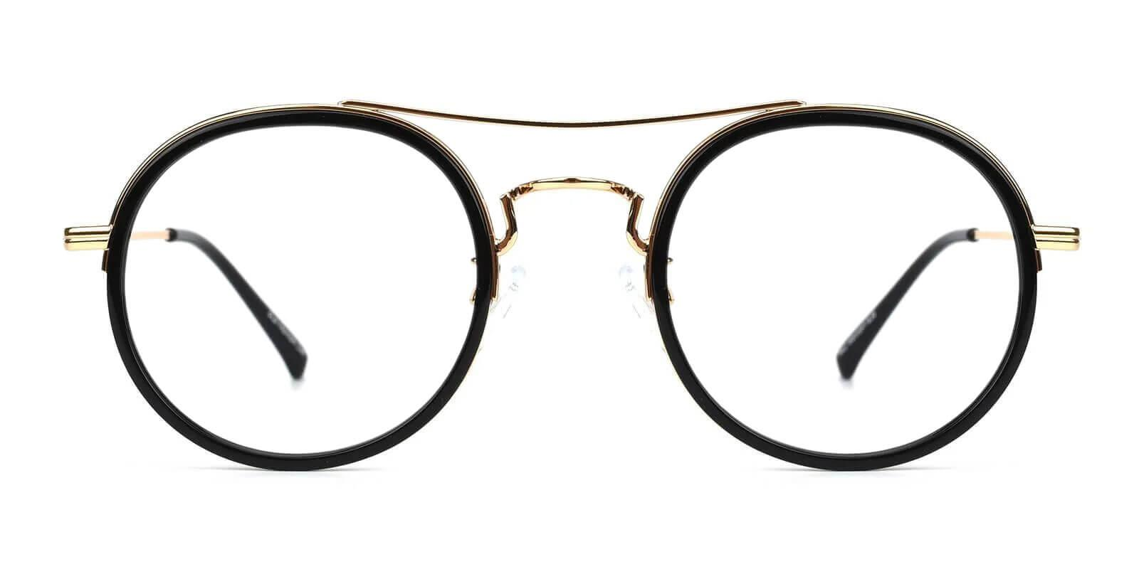 Coexist Gold Combination NosePads , SpringHinges , Eyeglasses Frames from ABBE Glasses
