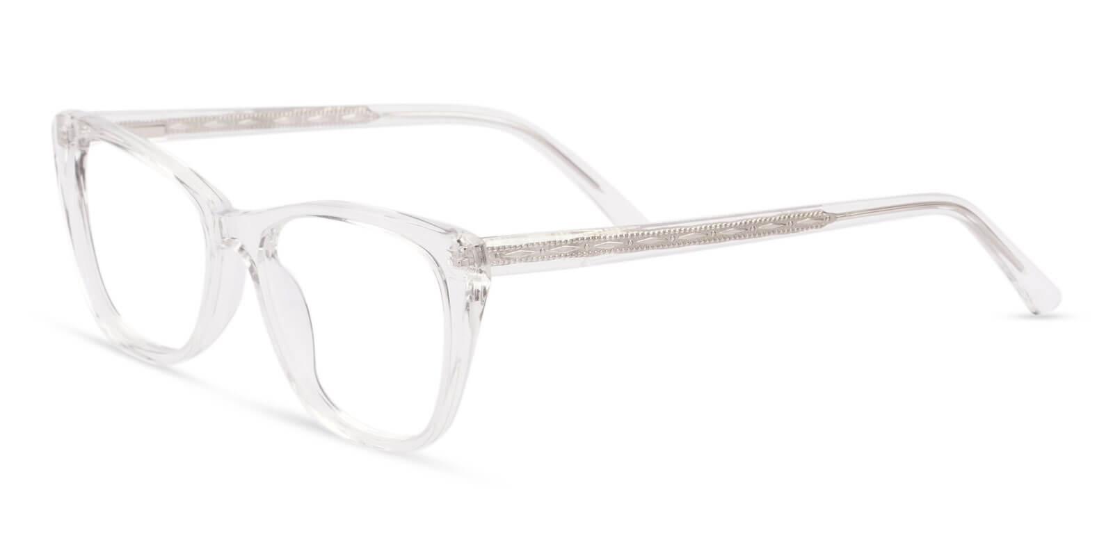 Yuke Translucent Acetate Eyeglasses , SpringHinges , UniversalBridgeFit Frames from ABBE Glasses