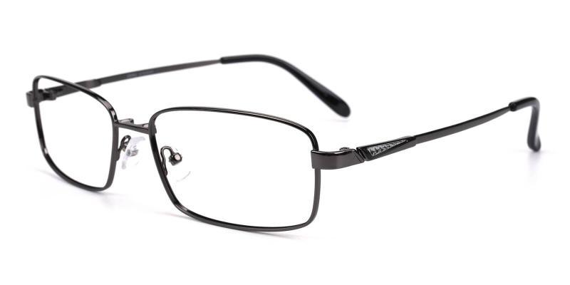 Gun Providence - Metal Eyeglasses , NosePads , SpringHinges