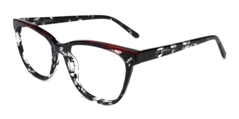 Multicolor Volary - Acetate Eyeglasses , SpringHinges , UniversalBridgeFit