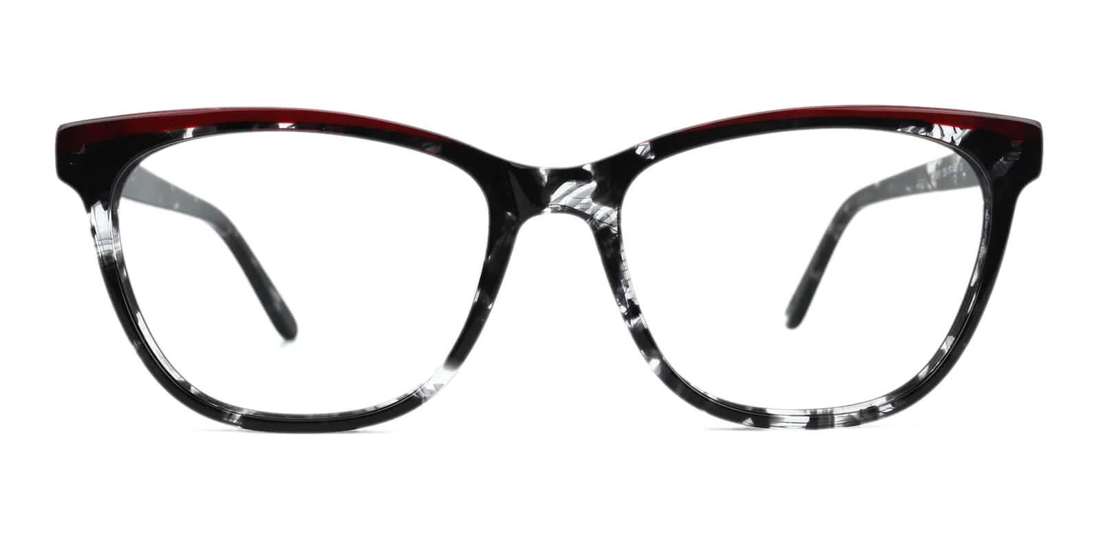 Volary Multicolor Acetate Eyeglasses , SpringHinges , UniversalBridgeFit Frames from ABBE Glasses