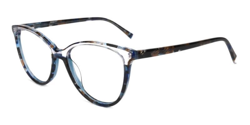 Multicolor Magnus - Acetate Eyeglasses , SpringHinges , UniversalBridgeFit