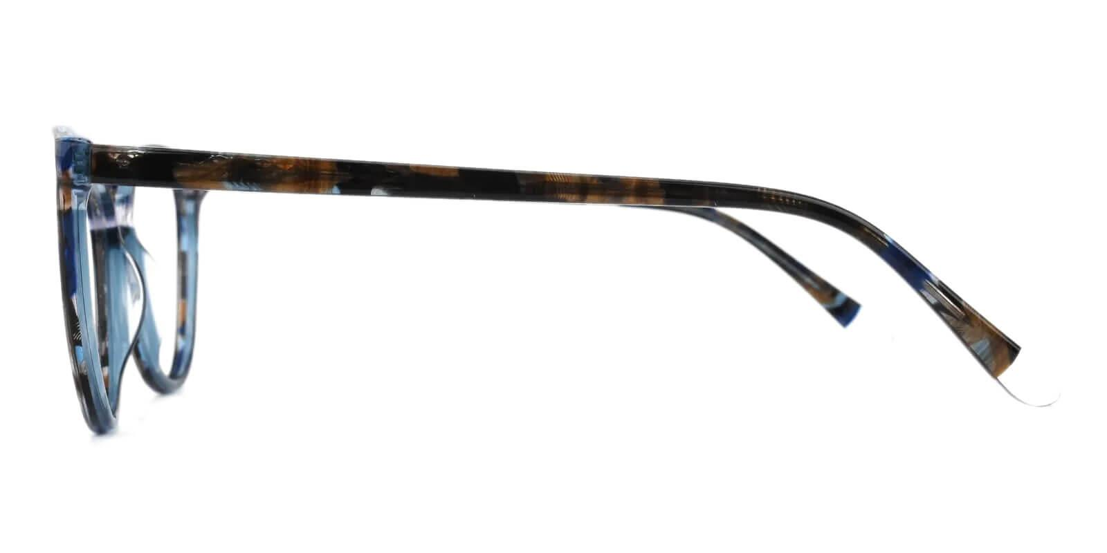 Magnus Multicolor Acetate Eyeglasses , SpringHinges , UniversalBridgeFit Frames from ABBE Glasses