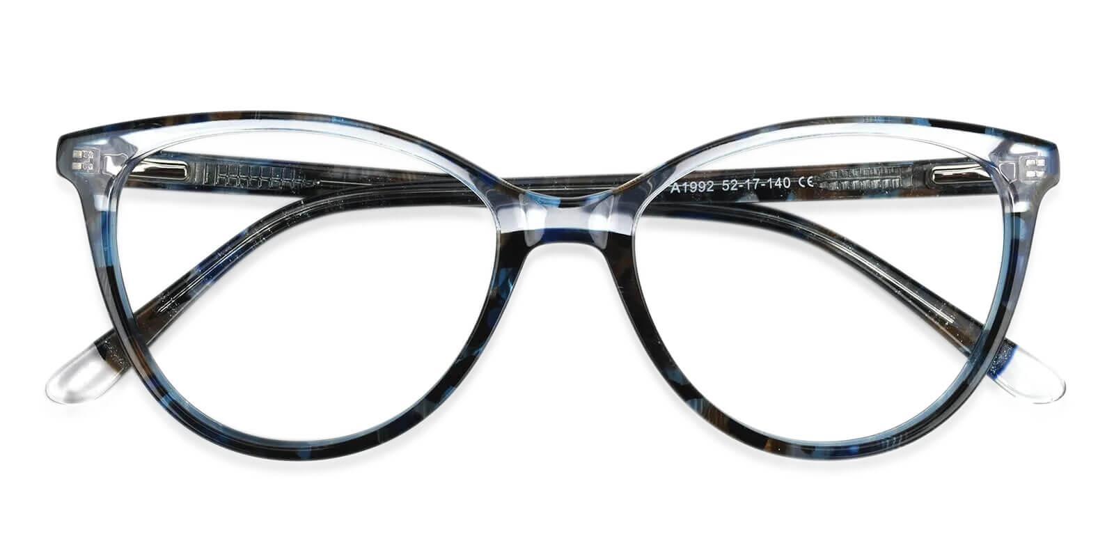 Magnus Multicolor Acetate Eyeglasses , SpringHinges , UniversalBridgeFit Frames from ABBE Glasses