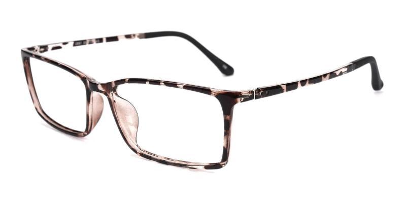 Leopard Samson - TR Eyeglasses , SpringHinges , UniversalBridgeFit