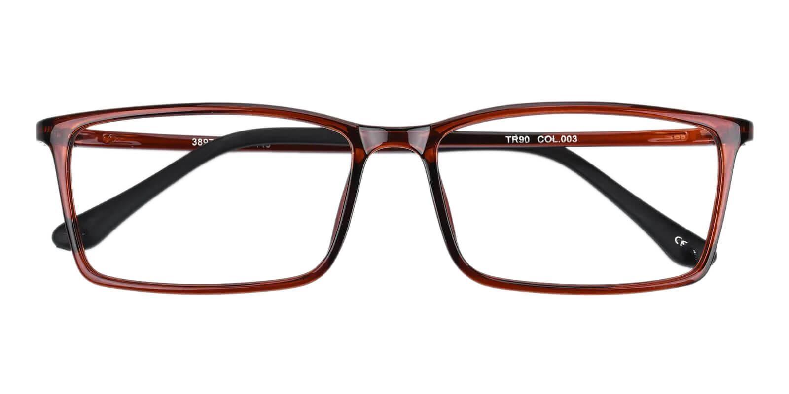 Samson Red TR Eyeglasses , SpringHinges , UniversalBridgeFit Frames from ABBE Glasses
