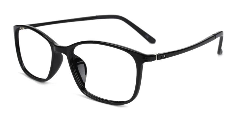 Black Lyric - TR Eyeglasses , SpringHinges , UniversalBridgeFit