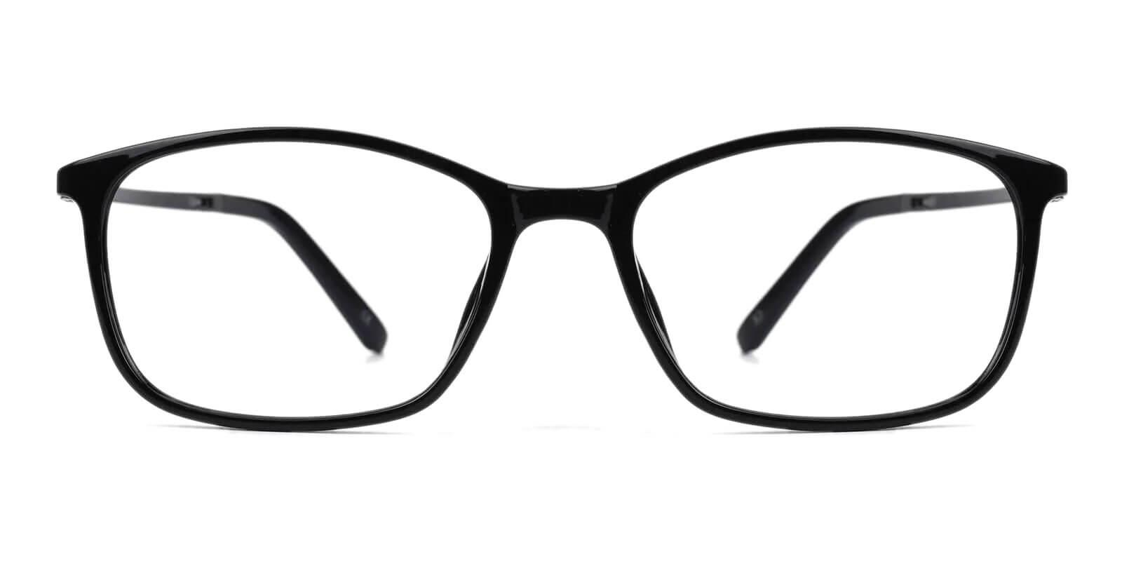Lyric Black TR Eyeglasses , SpringHinges , UniversalBridgeFit Frames from ABBE Glasses