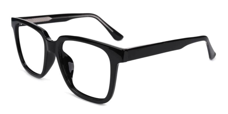 Black Blossom - Acetate ,Universal Bridge Fit