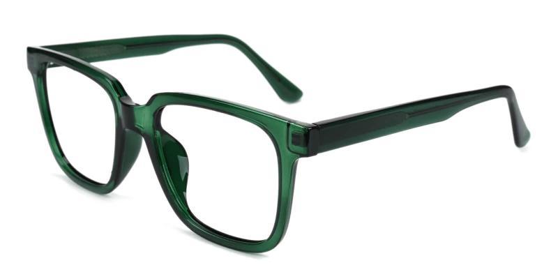 Green Blossom - Acetate Eyeglasses , SpringHinges , UniversalBridgeFit