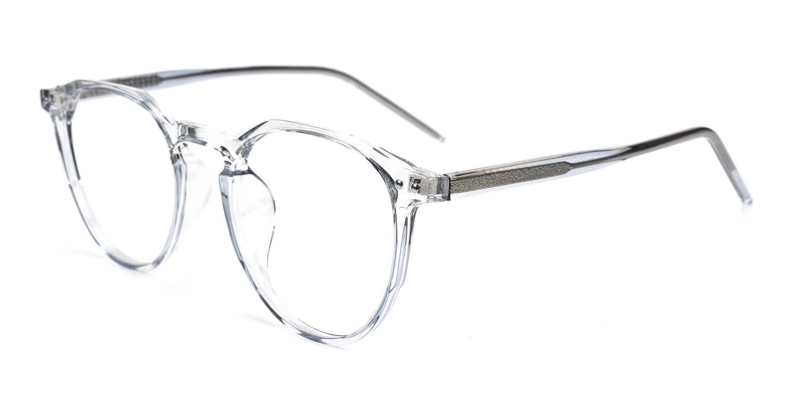 Mariner Gray Acetate Eyeglasses , SpringHinges , UniversalBridgeFit Frames from ABBE Glasses