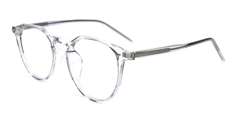Gray Mariner - Acetate Eyeglasses , SpringHinges , UniversalBridgeFit