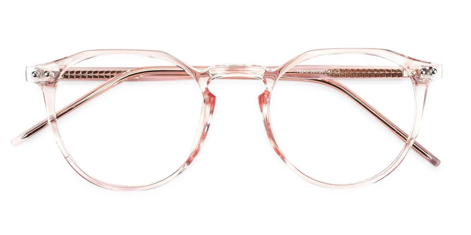 Mariner Pink Acetate Eyeglasses , SpringHinges , UniversalBridgeFit Frames from ABBE Glasses