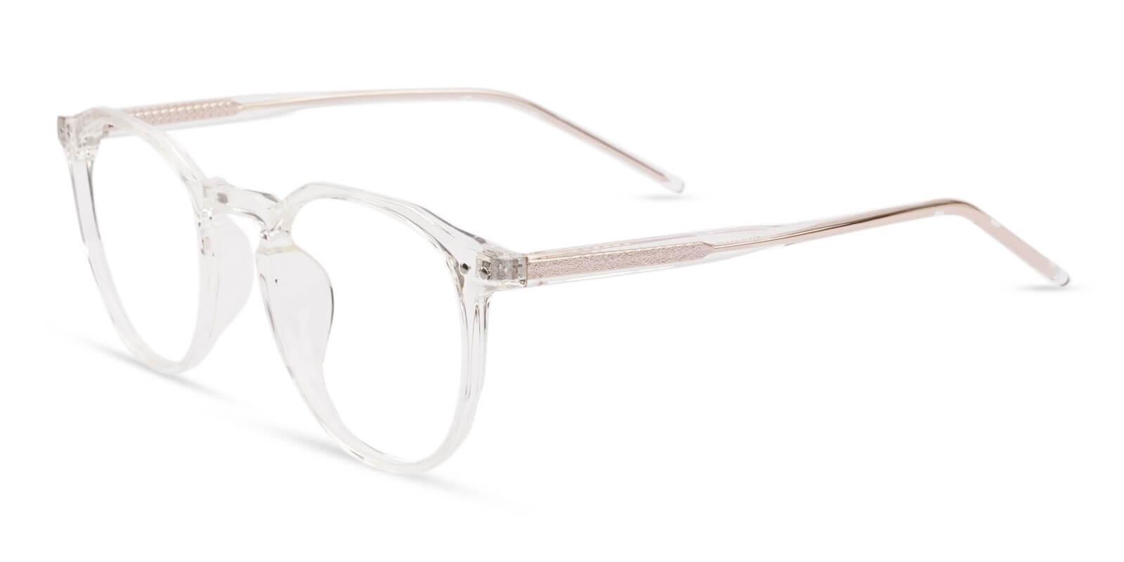 Mariner Translucent Acetate Eyeglasses , SpringHinges , UniversalBridgeFit Frames from ABBE Glasses