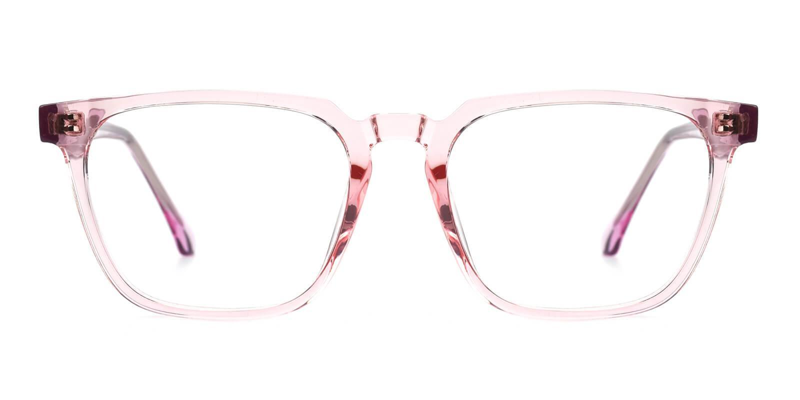 Oriana Pink Acetate Eyeglasses , SpringHinges , UniversalBridgeFit Frames from ABBE Glasses