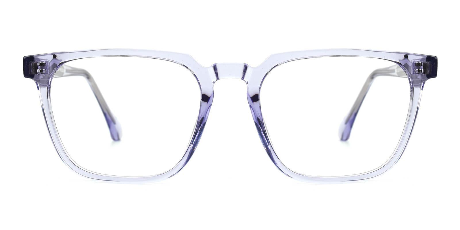 Oriana Purple Acetate Eyeglasses , SpringHinges , UniversalBridgeFit Frames from ABBE Glasses
