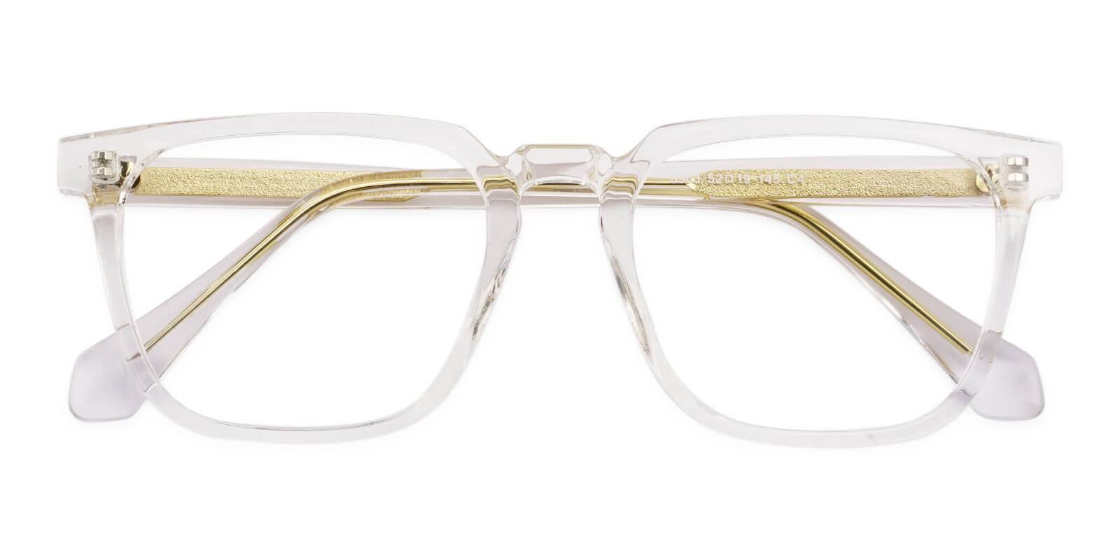 Oriana Translucent Acetate Eyeglasses , SpringHinges , UniversalBridgeFit Frames from ABBE Glasses
