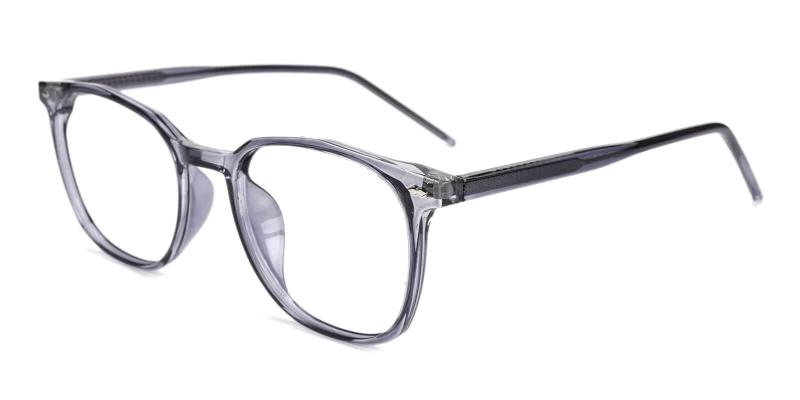 Gray Prodigy - Acetate Eyeglasses , SpringHinges , UniversalBridgeFit